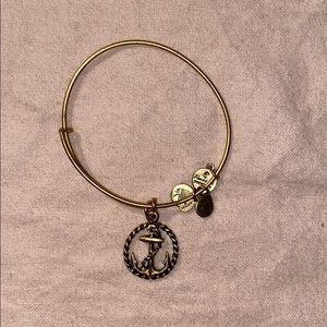 Alex & Ani anchor bracelet